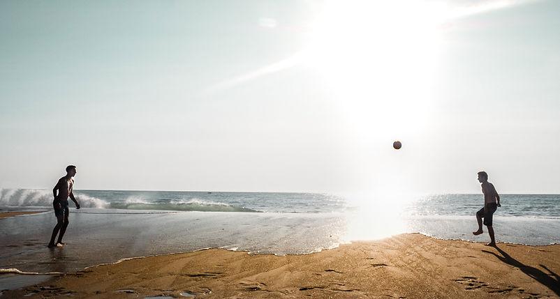 Soccer on the Beach