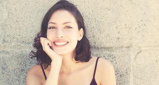 Porträt lächelnde Frau