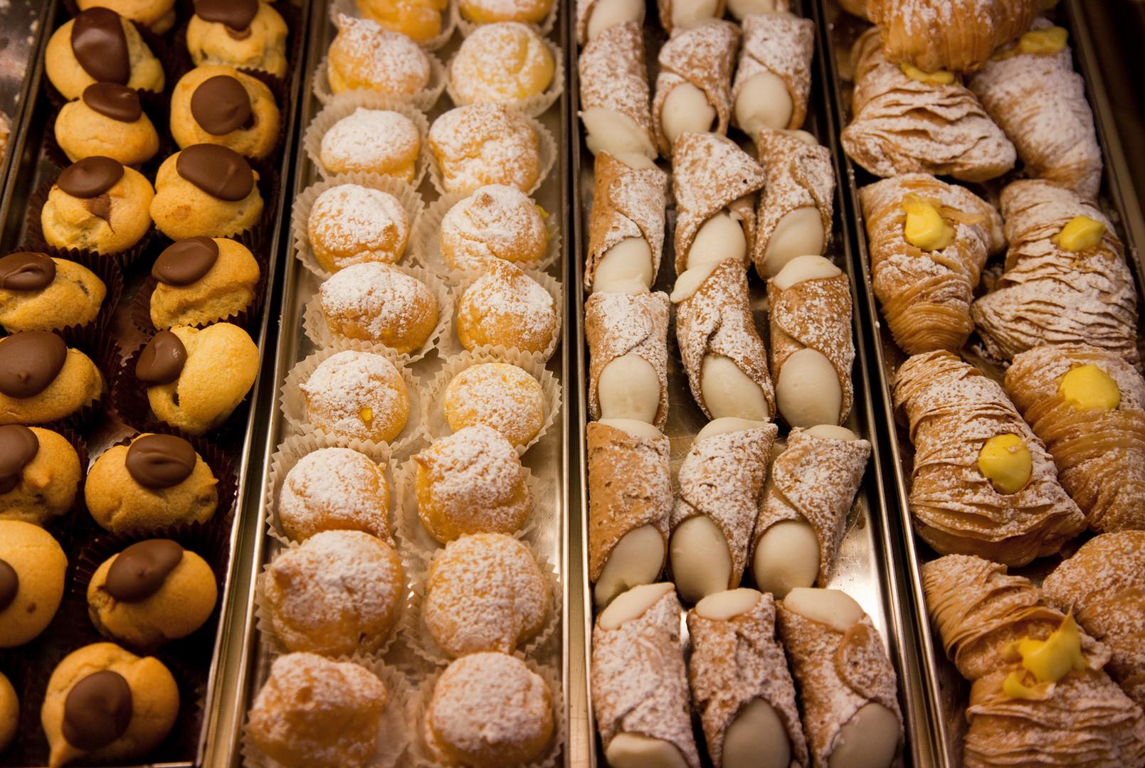 Sélection de pâtisseries