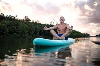 SUP Yoga Meditation Om