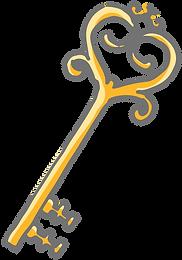 goldener Schlüssel