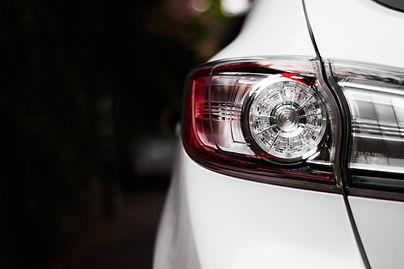 車のテールライト