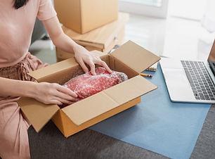 Ouverture d'un package