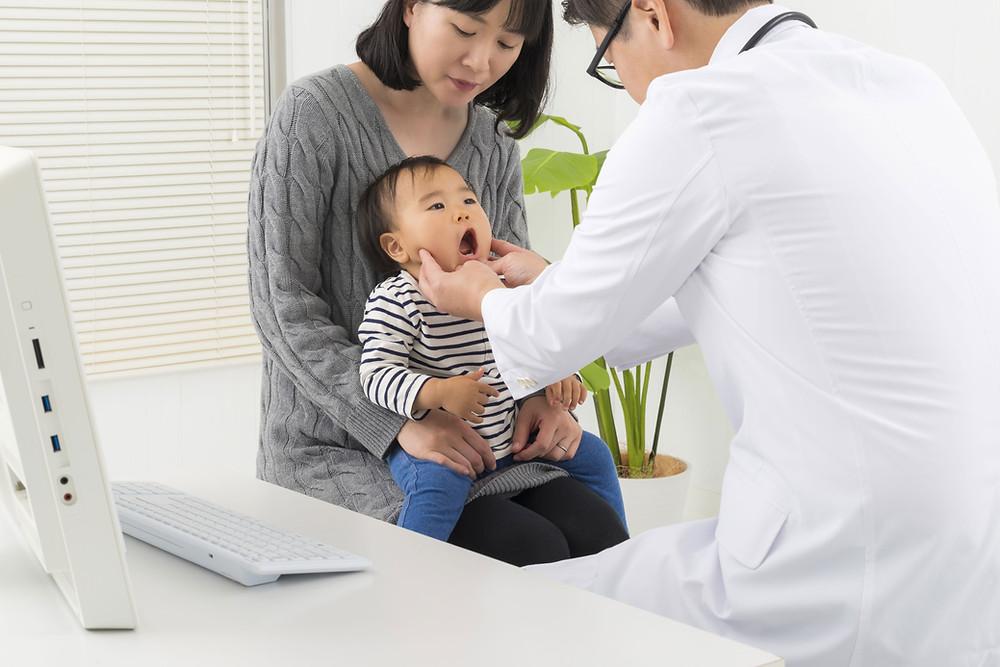 子どもの歯科検診