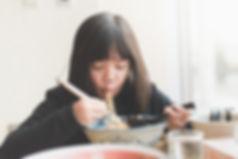 Eating Noodles