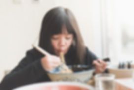 Eating Noodles