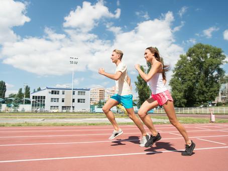 A importância da caminhada e corrida para a saúde.
