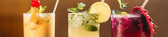 LES COCKTAILS SANS ALCOOL