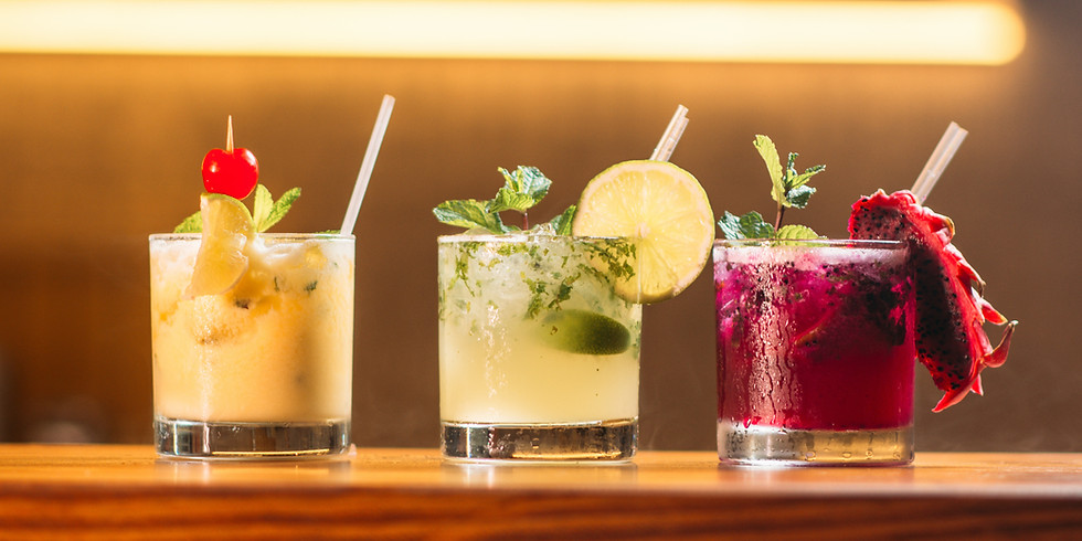 Make Your Own Drinks Virtual Happy Hour
