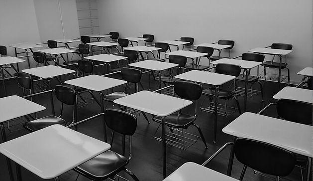 Salle de classe vide
