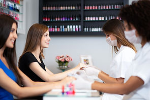 Nail styles, designs, and shape change almost weekly! None the less our techs are always on top of their nail game to leave you with the most innovative nails in your city.