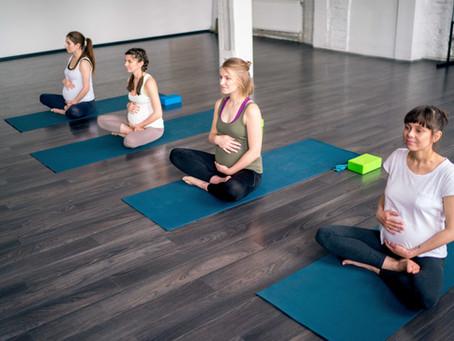 Prenatal Yoga for Back & Hip Pain