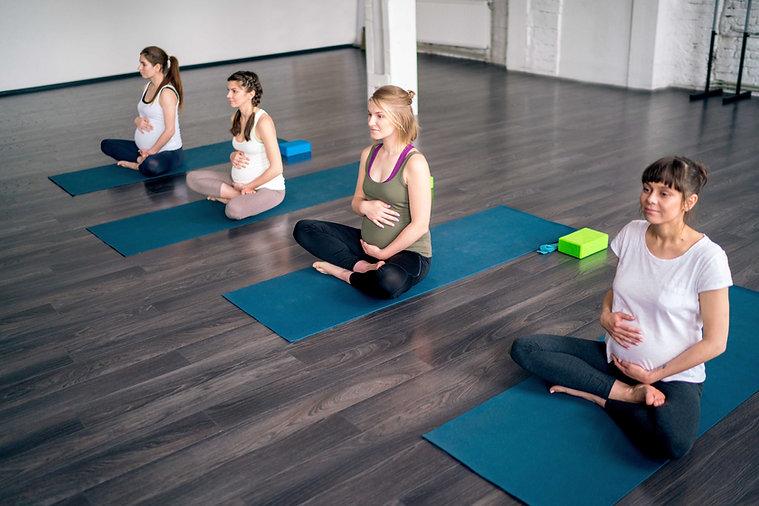 Cours de yoga prénatal