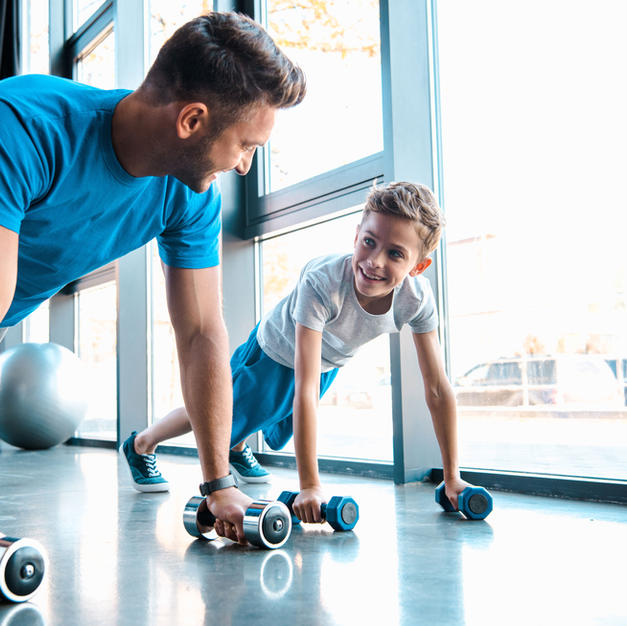 Nous vous encourageons à pratiquer des activités physiques régulières