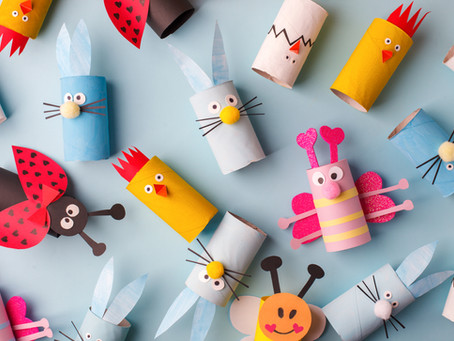 55 Arts and Crafts Ideas to do at Home