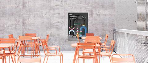 Poster an der Wall