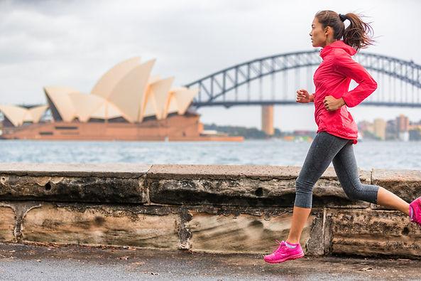 Running in Sydney