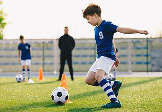 Práctica de fútbol
