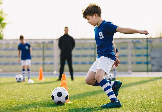 Futbol antremanı