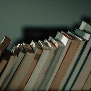 Выстроились книги