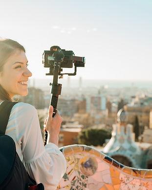 Blogger di viaggi