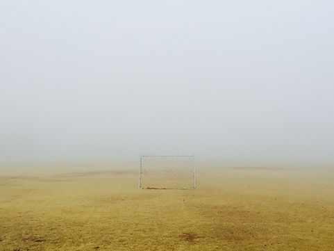 Misty Football Field