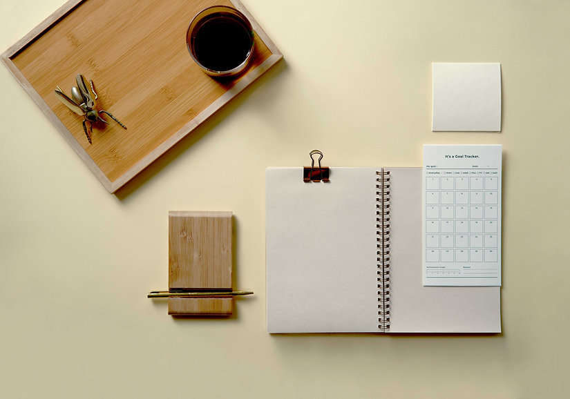 空白のノートブック