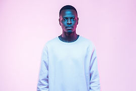 Portrait on Pink Background