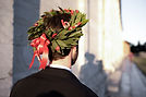 Corona d'alloro per laurea