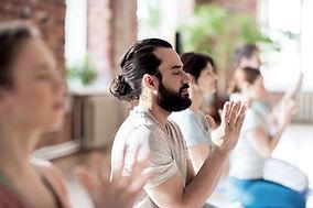 Group Meditation yoga studio fulton md