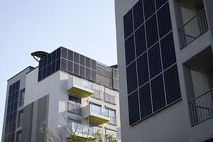 Solar Heating Buildings
