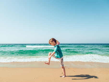 Grounding with children: benefits and techniques
