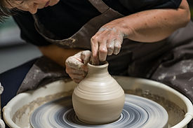 Shaping Pottery