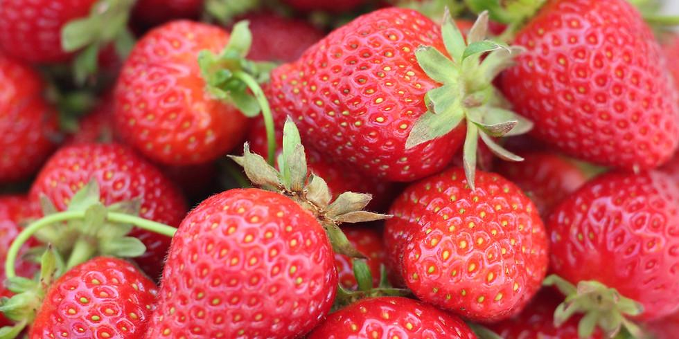 Strawberry Shortcake Dinner