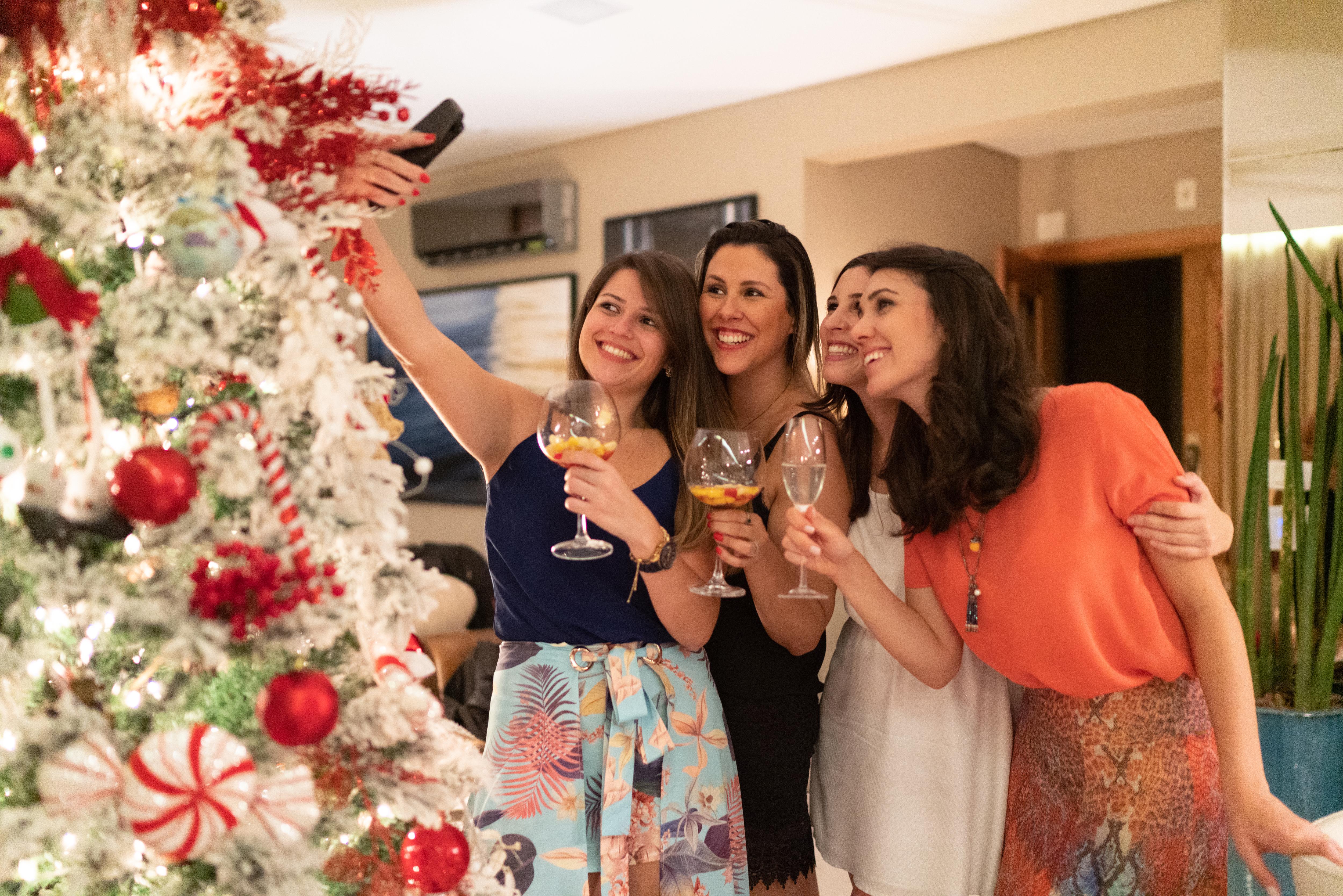 Natal com amigos