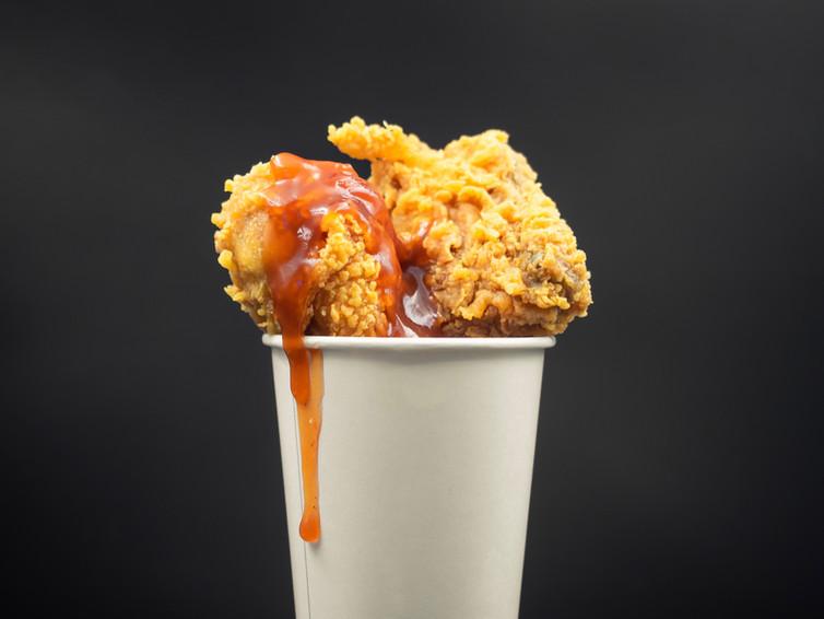 Korean Fried Chicken Wings in Cup