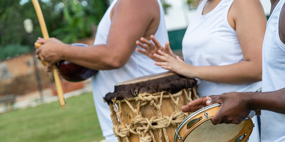 Capoeira Angola at the Park: In-Person Training in Music & Movement - All Levels