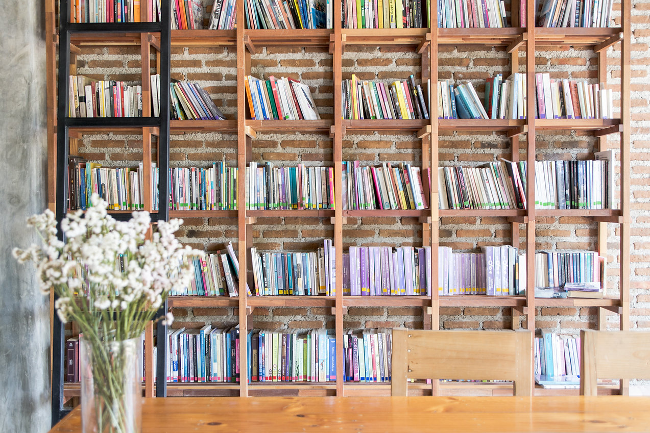 Library Bookshelves