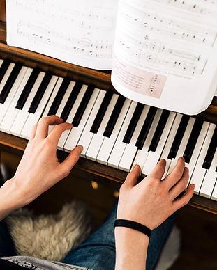 Lección de piano