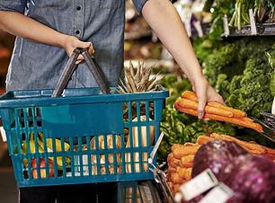 Compra de verduras