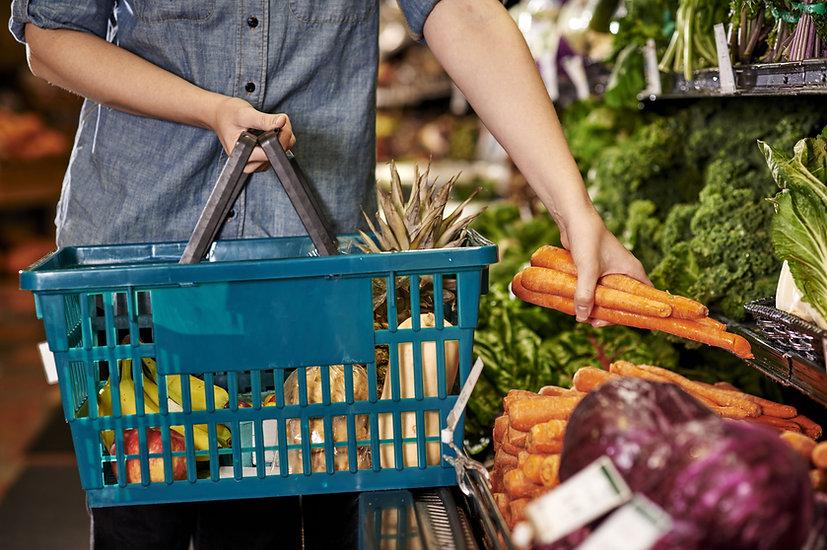 Compras de vegetais