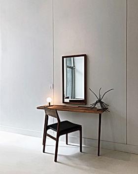 Specchio sul muro