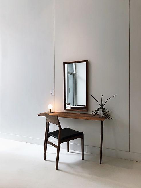 Spiegel an der Wand
