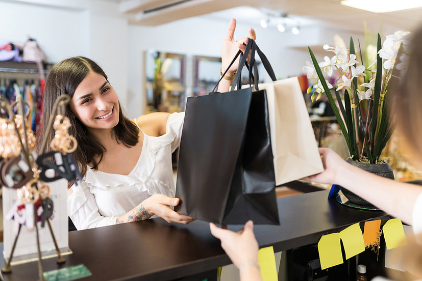 Happy Shopper from Retail Training Company