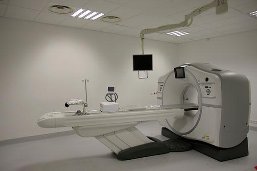 Máquina de tomografia computadorizada
