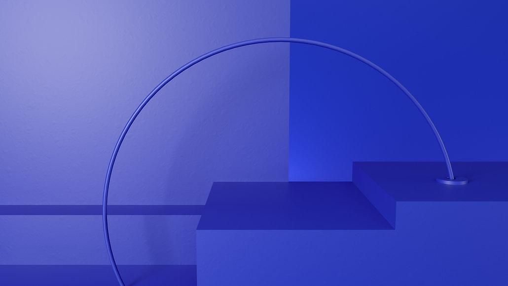 Structure bleue