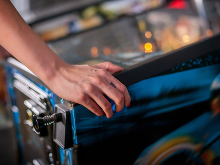 Learning to Be a Pinball Wizard While Camping