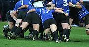 Mêlée management rugby