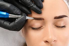 Permanent Augenbrauen Make-up