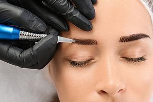 Permanent Eyebrows Makeup
